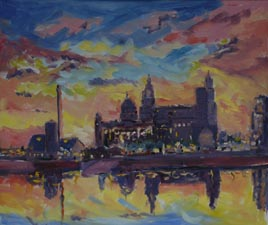 arttist roy munday, art tutor, art classes on merseyside