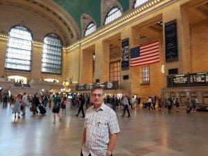 roy munday, artist, visit to new york