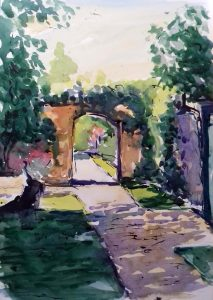 watercolour by artist roy munday, art class, watercolours, ormskirk, lancashire and merseyside