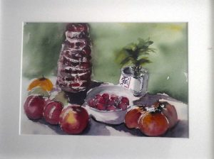 still-life, watercolour, russia, artist roy munday, art calssses on merseyside, oils, acrylics, watercolours, drawing