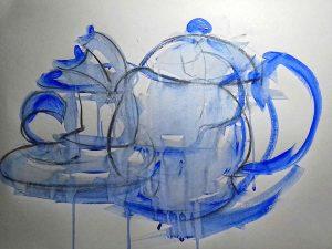 roy munday, artist, art classes, merseyside and southport, beginners art classes, experimental work
